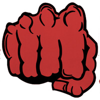 Da Red Fists team badge