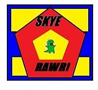 Skye Rawr! team badge
