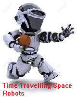 Time Travelling Space Robots team badge
